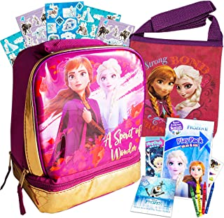 New Disney Frozen Olaf Sven Insulated School Lunch Box Bag  ❄ Kids ❄ Aus Seller