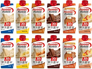 Premier Protein Shake 12 Pack (6 Flavors of 12 pk)