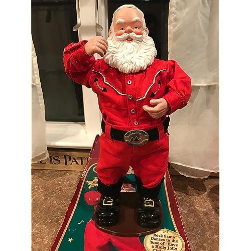b4ef83faaa754 Singing Hip-Swingin  Holly Jolly Rock Santa Cowboy