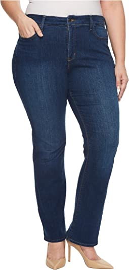 Plus Size Barbara Bootcut Jeans in Cooper