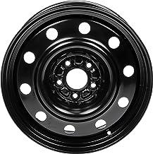 "Dorman 939-244 Steel Wheel for Select Dodge Models (17x6.5""/5x114.3mm), Black"
