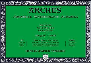 Arches Watercolor Paper Block, Cold Press, 7
