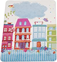 Confetti Sweet Home Halı, 100X150, Pembe Oymalı