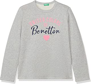 United Colors of Benetton Kız Çocuk Benetton Yazılı Sweatshirt