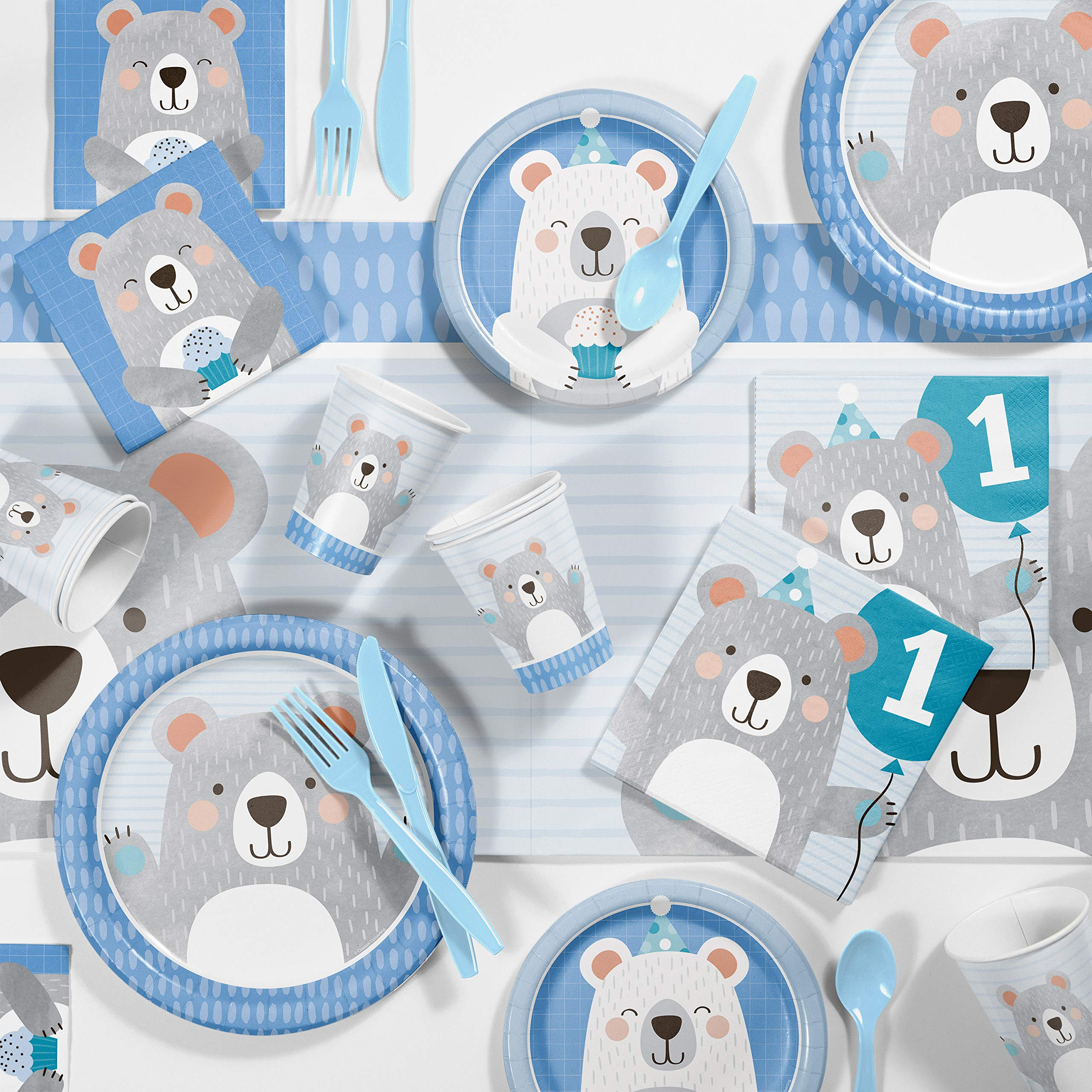 Baby first birthday themes Kraft Paper Bags Don/'t Feed the Bears 1st birthday party First Birthday Ideas
