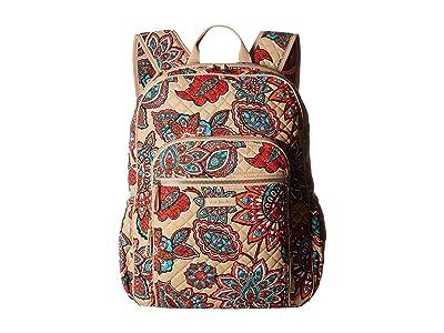 Vera Bradley Iconic Campus Backpack (Desert Floral) Backpack Bags