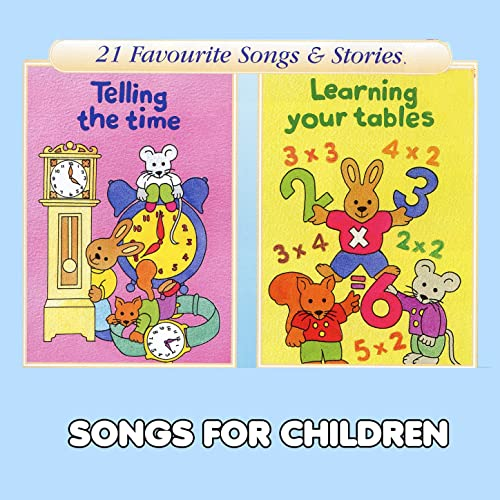 4 X Table Old Macdonald Had A Farm By Songs For Children On
