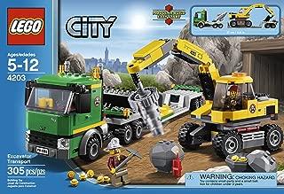 Best lego city mining excavator transport 4203 Reviews
