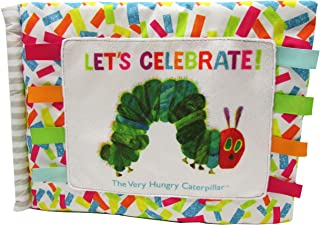 World of Eric Carle, The Very Hungry Caterpillar Happy Birthday Oversized Soft Book, 8.5""