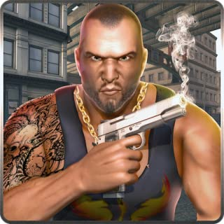 Vegas City Gangster Crime Theft Escape Survival Simulator 3D: Cops Vs Robbers Chase Criminal Shooting Fighting Adventure Thrilling Action Mission Game 2018