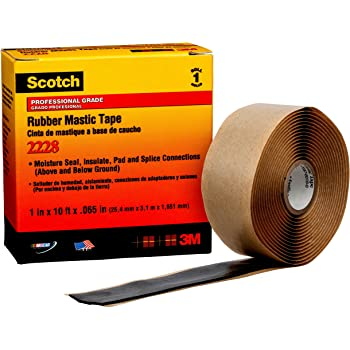 Black 3//4-Inch by 22 Feet Single Roll Duck Brand 393154 Rubber Splicing Tape