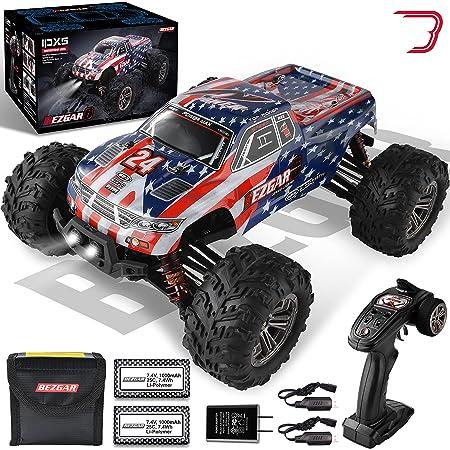 T best 1//10 RC Car M/étal Essieu Avant Essieu Arri/ère RC Racing Portal Axle Kit Fit pour SCX10 90046 90047 1//10 RC Car