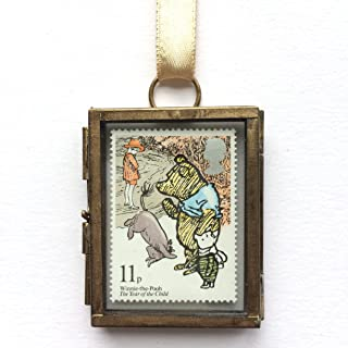 Winnie the Pooh Framed Postage Stamp Gift