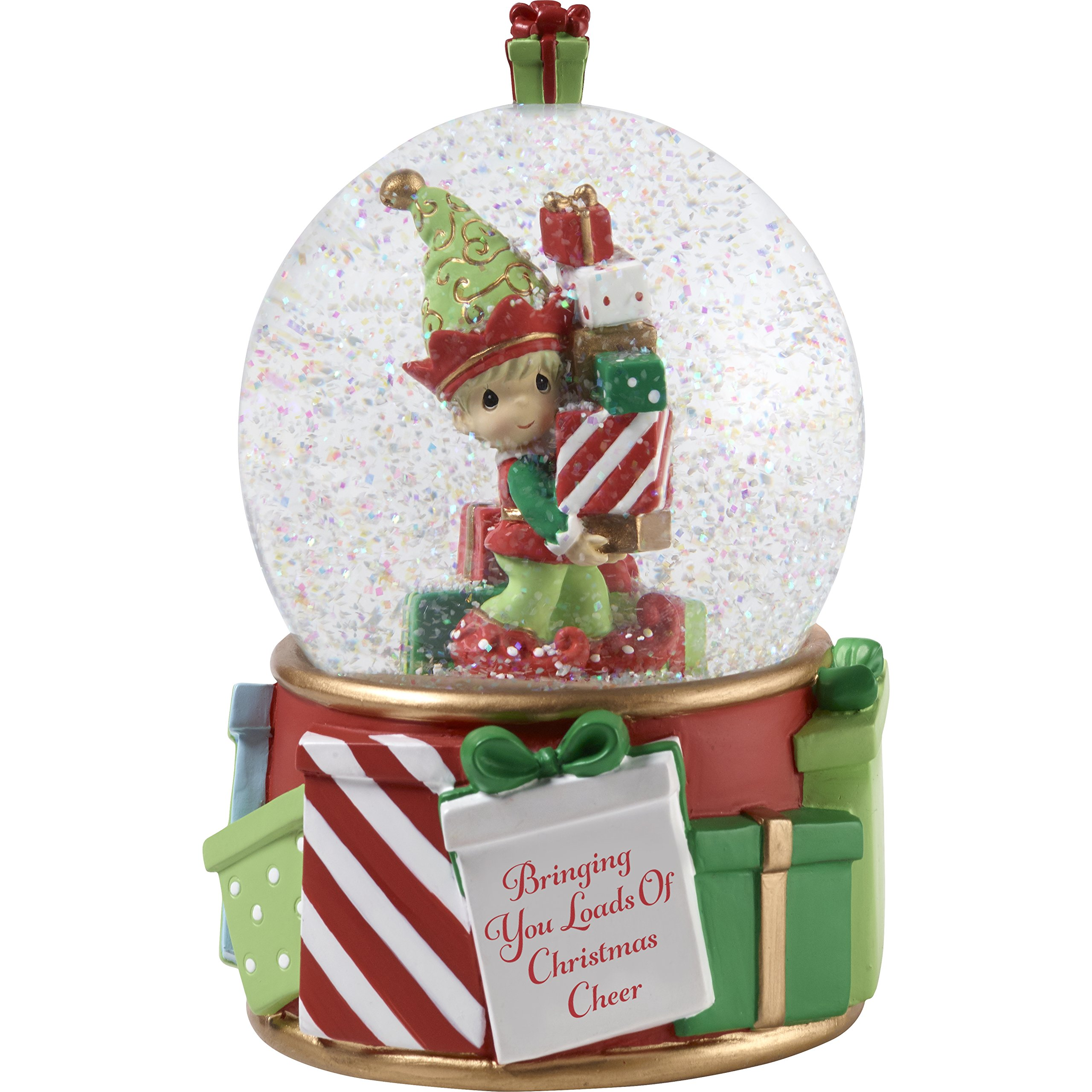 Image of Christmas Elf Snow Globe