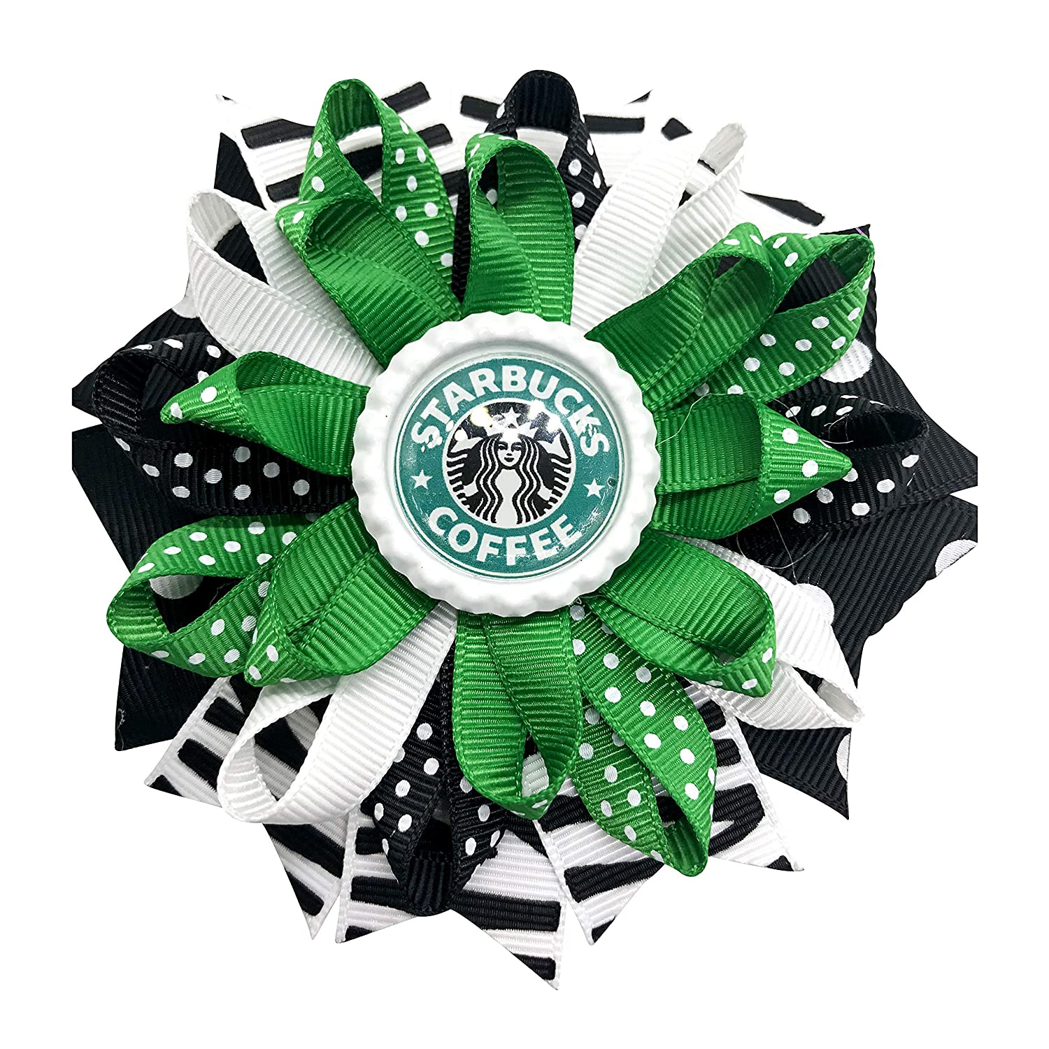 Coffee Hair Ranking TOP11 Bow Little Max 72% OFF Bows Toddler Girl