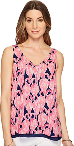 Lilly Pulitzer - Reversible Florin Sleeveless V-Neck