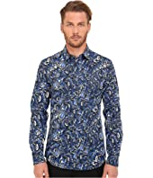 Just Cavalli - Kaleido Tigers Print Woven Shirt
