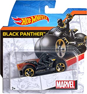 Hw Marvel Moto W/Rider As Size Ea Hot Wheels Marvel Moto W/Rider Asst