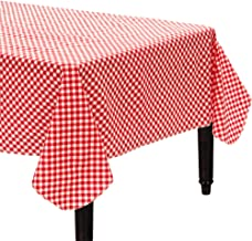 Amscan Gingham Party Table Cover
