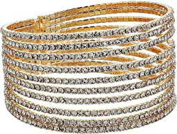 GUESS - Look of Multi Pave Flex Bangle Bracelet