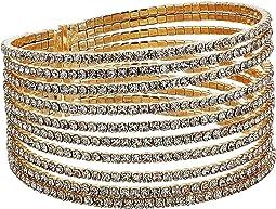GUESS - Look of Multi Pave Flex Bangle Bracelet