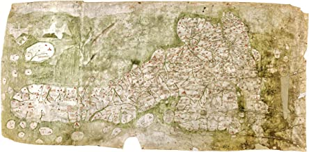 Map of Great Britain c.1360 - The Gough Map - Historic Cartography - 24 x 36 inches