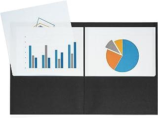 Black And White Striped File Folders