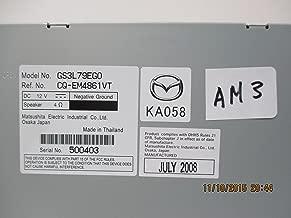 Accesorios originales Mazda (GS3L-79-EGX) Cambiador de CD / MP3 de 6 discos en el tablero