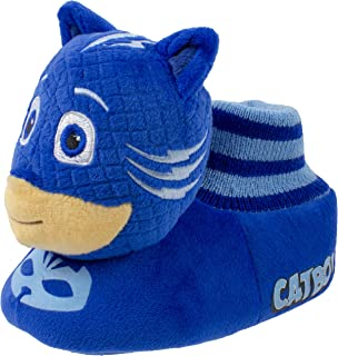 Boys Slippers,Catboy and Gekko,Socktop Slip On Slipper,Toddler Boys and Girls size 5 to 12.
