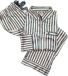 Women's 2 Piece Satin Afterhours PJ Pajama Pants Set