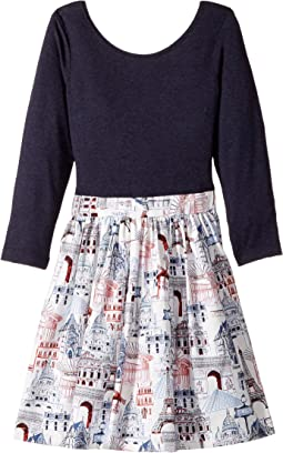 fiveloaves twofish - American in Paris Abbie Dress (Toddler/Little Kids/Big Kids)