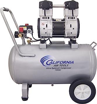 California Air Tools 15020C Ultra Quiet & Oil-Free 2.0 Hp 15.0 gallon Steel Tank Air Compressor: image