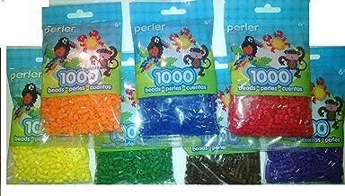 Perler Bead Bag, 7 Basic Color Group (D Blue, D Green, Red, Orange, Yellow, Purple, Brown)