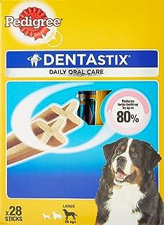 Pedigree Dentastix Oral Care Dog Treat for Large Breed (25 kg+), (28 Sticks) 1.08kg Monthly Pack