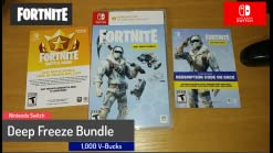 Fortnite Deepfreeze Bundle For Switch Amazon Com Fortnite Deep Freeze Bundle Nintendo Switch Video Games