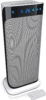 Brandson B07M6YNQHT Värmefläkt med Fjärrkontroll, 2000W, Vit/svart