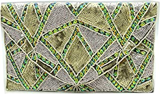 Terraacraft -HandCrafted Beaded Evening Clutch- Sling Bag for all Occasion