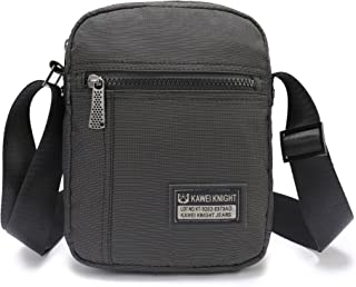 Lanspace Small Messenger Bags for iPad Mini Tablet Kindle iPhone 6 7 Plus Sling Pack Organizer