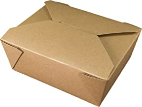 Fold-Pak Bio-Plus Earth 08BPEARTHM Natural Kraft Paper Carry-Out/To-Go Container, 6