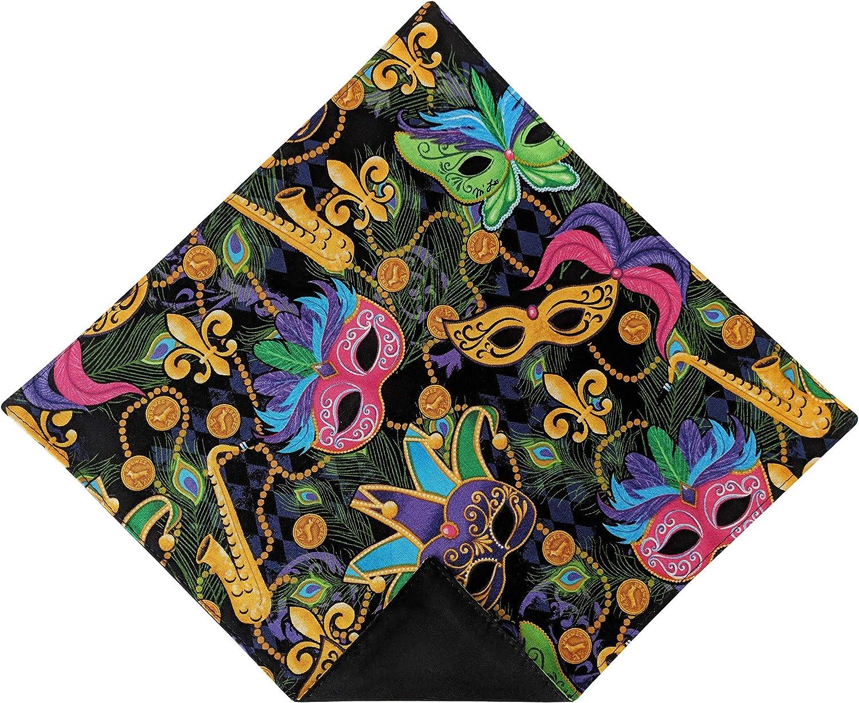 Holiday Bow Ties Mens Pocket Square Fleur De Lis Mardi Gras Handkerchief