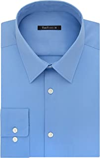 Van Heusen Men's Dress Shirt Slim Fit Flex Collar Stretch...