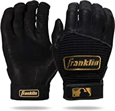 Franklin Sports MLB Pro Classic Baseball Batting Gloves – Adult and Youth Sizes – Premium Pro Grade Quality Leather – Exce...