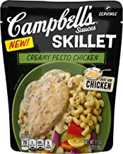 Campbell's Skillet Sauces, Creamy Pesto Chicken, 11 oz. (Pack of 6)