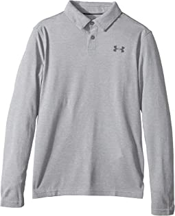 Under Armour Kids - Long Sleeve Siro Tech Polo (Big Kids)
