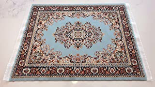 Set of 2 Rug Placemats - Woven Carpet Table Mats - Dining Table Decor Oriental Style Place Mats