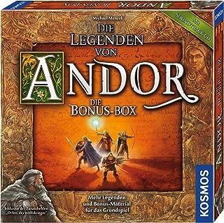 KOSMOS 694074 The Legends of Andor – Bonusboxen Fler legender och bonusmaterial för Basic Game Fantasy Board Game från 10 år