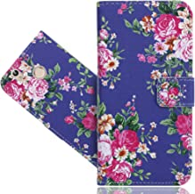 Oukitel U7 Plus Case, FoneExpert Printed Vintage Pattern Leather Kickstand Flip Wallet Bag Case Cover For Oukitel U7 Plus