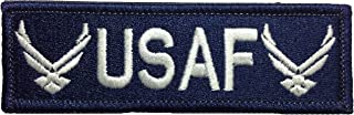 Papapatch Tactical USAF Hook and Loop Touch Fasteners Backing Tab Patch - Navy Blue (Hook-TAB-USAF-NVBL)