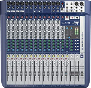 Soundcraft Signature 16 Analog 16-Channel Mixer with Onboard Lexicon Effects
