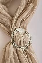 South Carolina SC Scarf Ring Scarf Jewelry Pewter